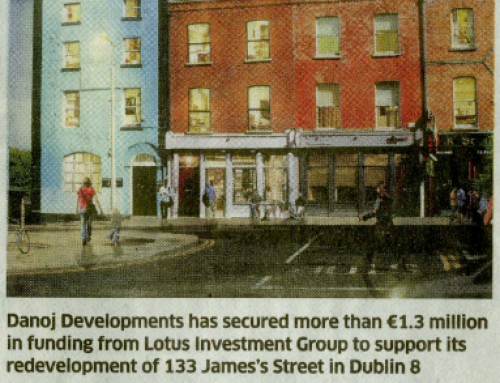 Seaspray Financial arranges €1.3m funding for the redevelopment of Dublin 8 property