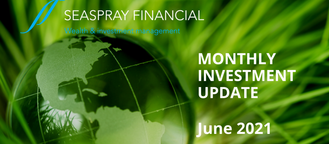 Financial June Monthly Investment Update 2021 Image
